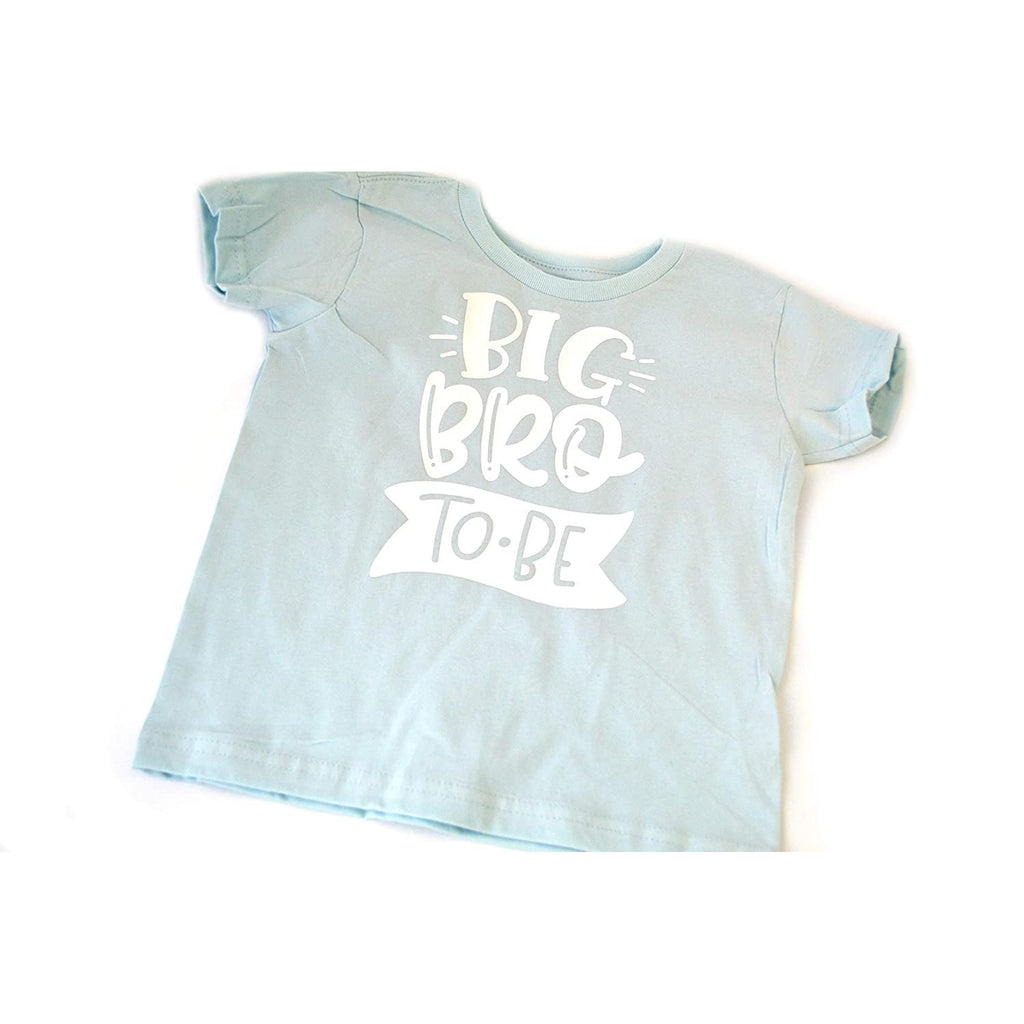 Big Bro light blue shirt with white text