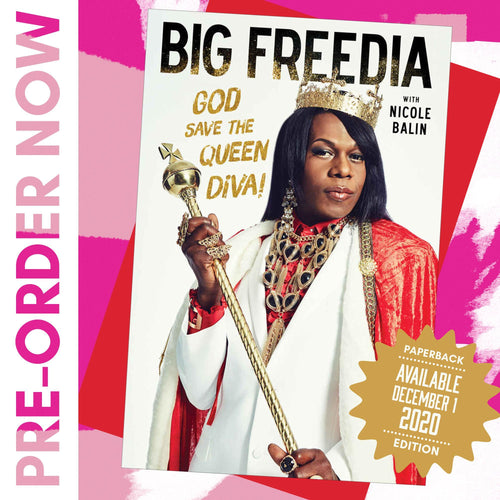 God Save The Queen Diva! Paperback Book