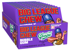 Big League Chew Tray - Grape