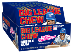 Big League Chew Tray - Blue Raspberry