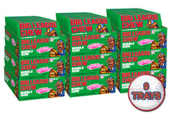 Big League Chew Case (9 Trays) - Strawberry