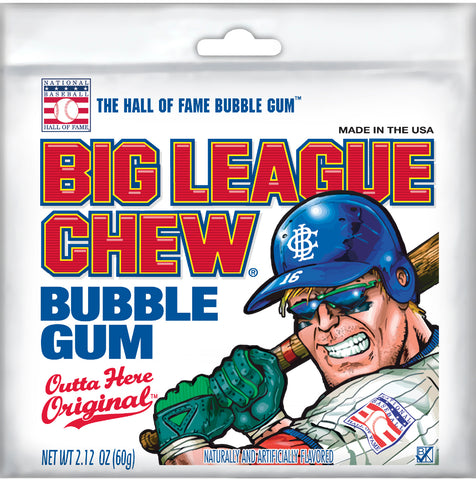 Big League Chew Tray - Four delicious flavors to choose from.