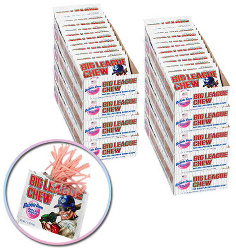 Big League Chew Case - Four delicious flavors to choose from. Coaches Discount available!