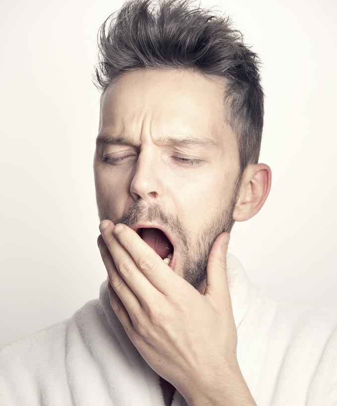 excessive yawning in migraine