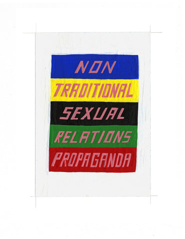 #40 NON-TRADITIONAL SEXUAL RELATIONS PROPAGANDA