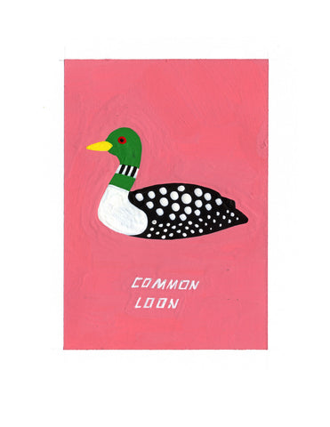 #73 COMMON LOON