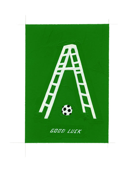 #164 GOOD LUCK (FRIDAY THE 13TH WORLD CUP EDITION)