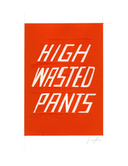 #201 HIGH WASTED PANTS