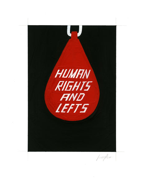 #343 HUMAN RIGHTS AND LEFTS (no. 2)