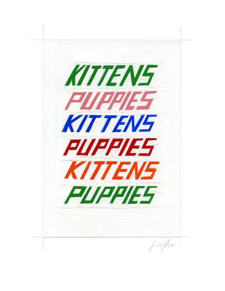 #332 KITTENS AND PUPPIES