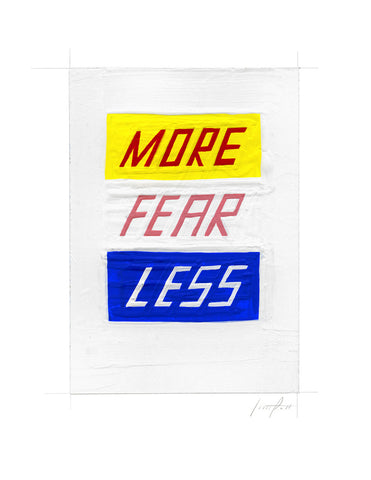 #196 MORE FEAR LESS
