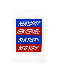 #256 NEW YORKING (BLUE AND RED)