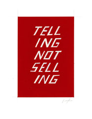 #205 Telling not selling