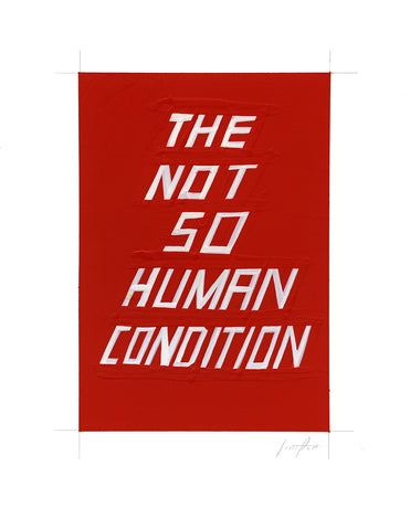 #323 THE NOT SO HUMAN CONDITION