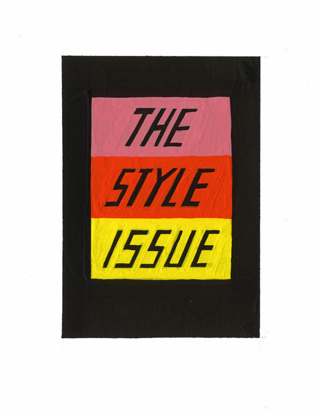 #63 THE STYLE ISSUE