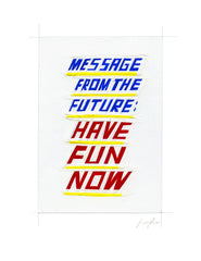 #228 MESSAGE FROM THE FUTURE no. 1