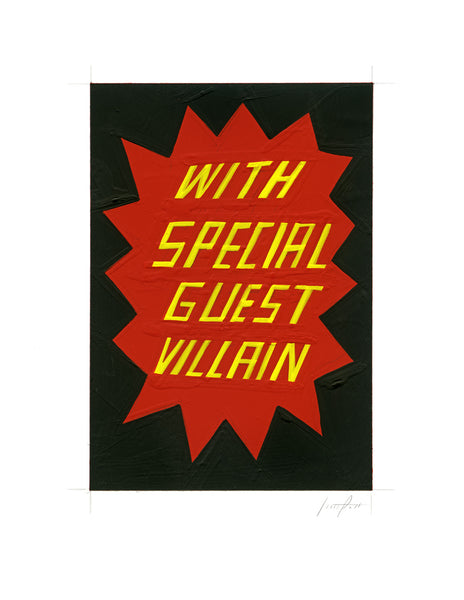 #263 WITH SPECIAL GUEST VILLAIN