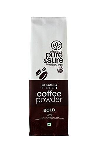 Pure & Sure Organic Coffee Powder Bold, 200g