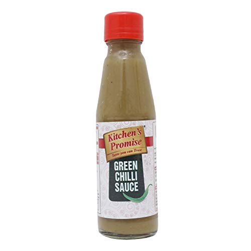 Kitchen's Promise Culinary Sauce - Green Chilli, 200g, Bottle
