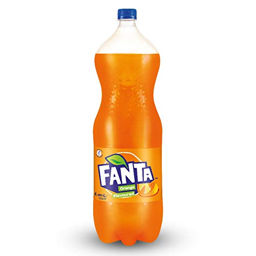 Fanta Orange flavored Soft Drink, 1.75 ltr Bottle