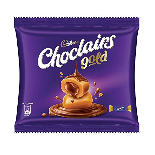 Cadbury Choclairs Gold Home Pack (25 Candies), 137.5 g