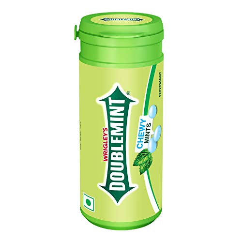 Wrigley Doublemint Chewing Mint - Peppermint, 33.6g