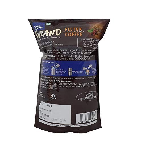 Tata Grand Filter Coffee, 500g