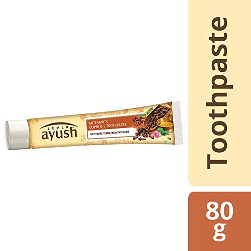 Lever Ayush Anti Cavity Clove Oil Toothpaste - 80 g