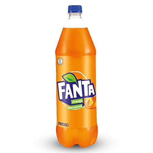 Fanta Orange Flavoured Soft Drink, 1.25L Bottle