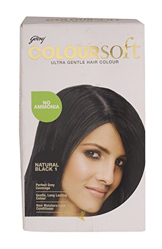 Godrej Hair Colour - Natural Black 1, 40ml Pack