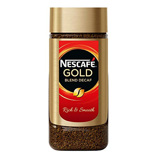 Nescafe Gold Blend Imported Decaf Coffee Powder, Glass Jar, 100 g