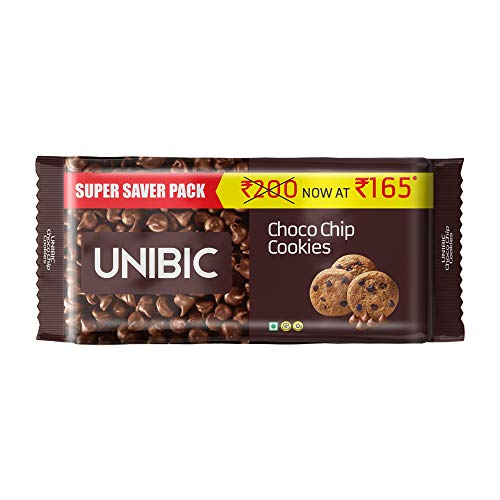 UNIBIC Choco Chip Cookies, 500 g