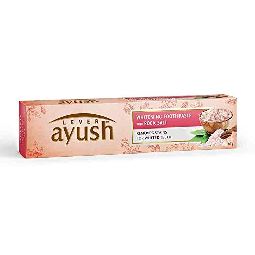 Ayush Whitening Toothpaste - 80 g (Rock Salt)