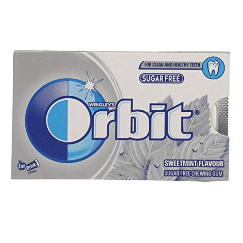 Orbit Chewing Gum - Sweetmint, 8.8g