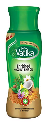 Dabur Vatika Enriched Hair Oil, Coconut, 150ml