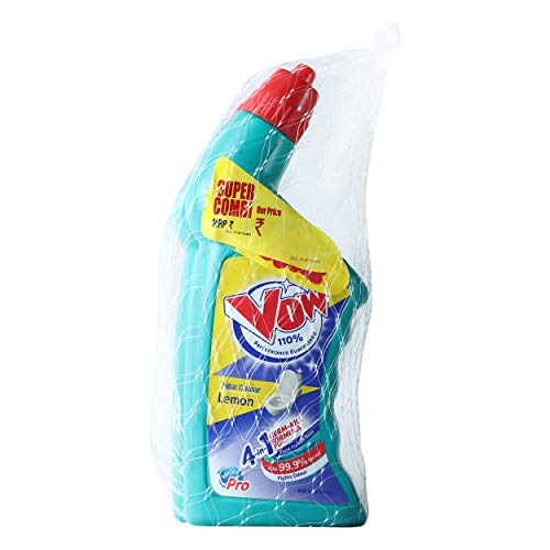 Vow Toilet Cleaner - 500ml (Lemon, Buy 1 get 1)