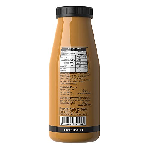 Raw Pressery Dairy Protein Milkshake - Cold Coffee, 200 ml