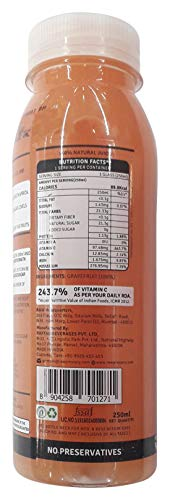 Raw Pressery Grape Fruit Juice, 250 ml
