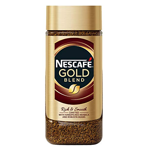 Nescafe Gold Rich and Smooth Coffee Powder, 100g Glass Jar