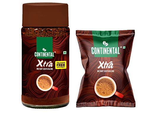 Continental Xtra Coffee 50g Jar and 25g Pouch Combo Pack