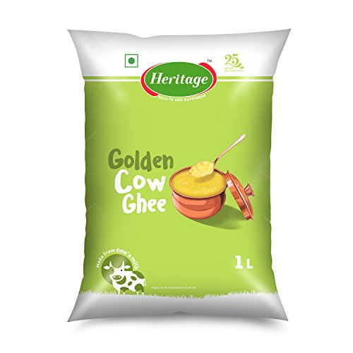Heritage Cow Ghee , 1L Pouch
