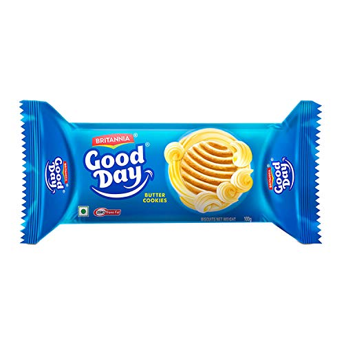 Britannia Good Day Cookies - Butter, 120g