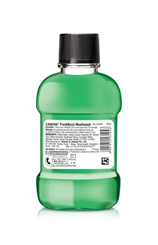 Listerine Fresh Burst Mouthwash 80ml
