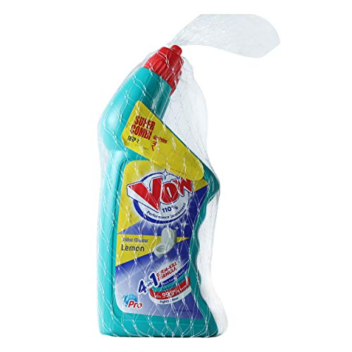 Vow Toilet Cleaner - 1000ml (Lemon, Buy 1 get 1)