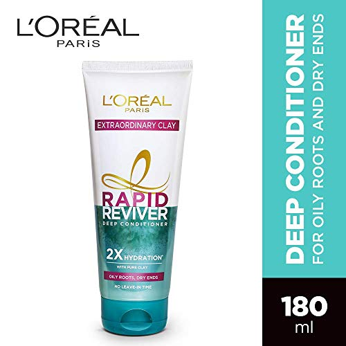 L'Oreal Paris Rapid Reviver Extraordinary Clay Deep Conditioner, 180ml