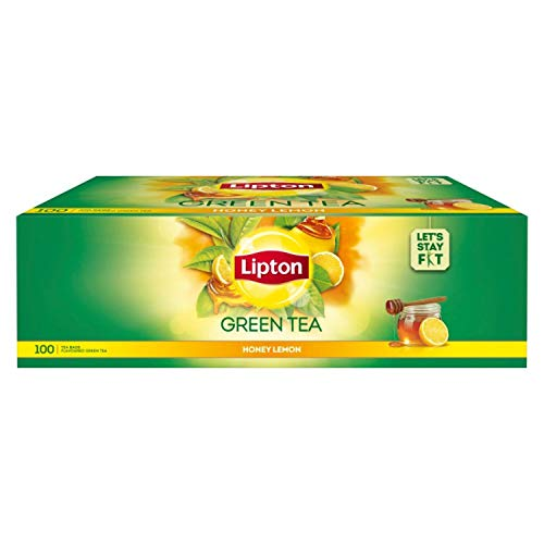 Lipton Honey Lemon Green Tea Bags, 100 Pc