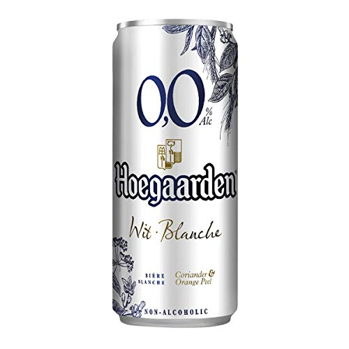 Hoegaarden 0.0 Non Alcoholic Wit Blanche Drink, 330 ml