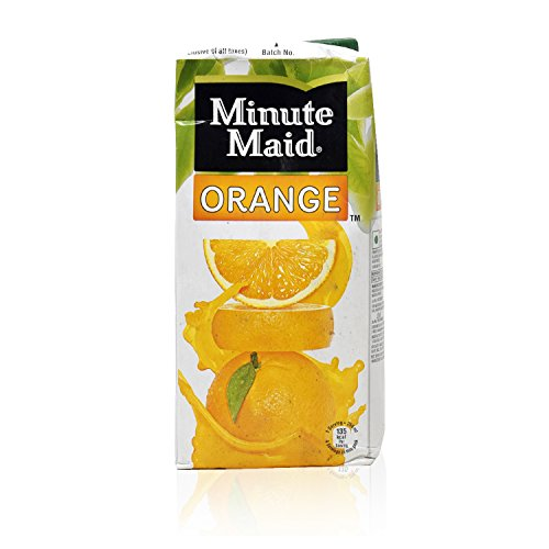 Minute Maid Juice - Orange, 1L Tetra Pack