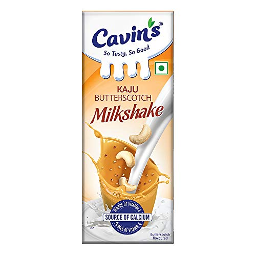 Cavin's Kaju Butterscotch Milkshake, 200 ml
