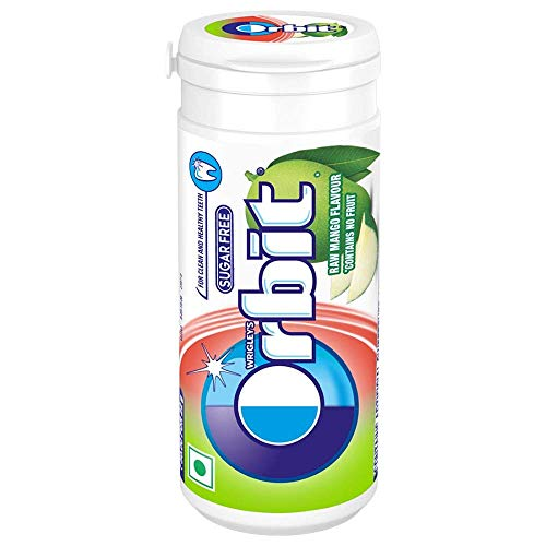 Orbit Sugar Free Chewing Gum - Raw Mango Flavour